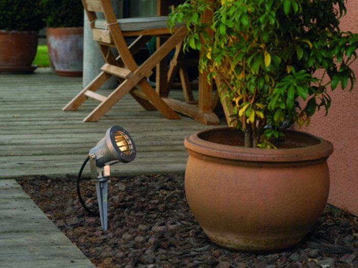 Adjustable aluminium Outdoor floodlight ECO 2C by BEL-LIGHTING