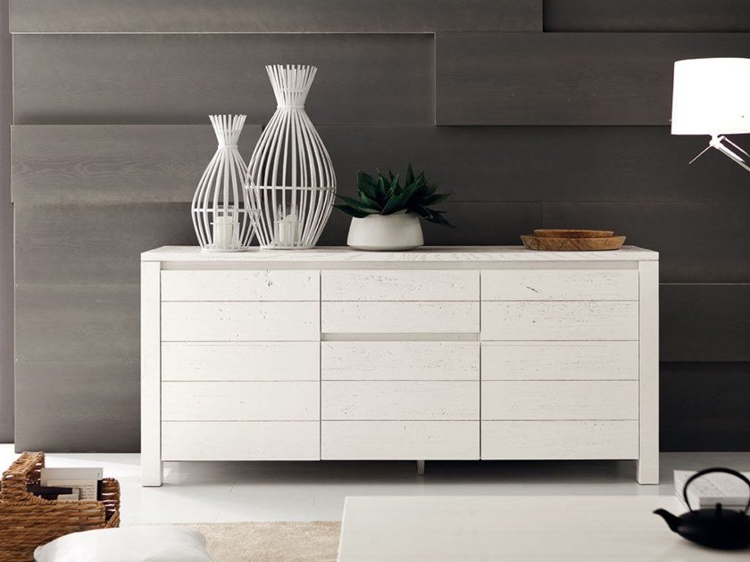 Oak sideboard with drawers ECO | Sideboard by AltaCorte
