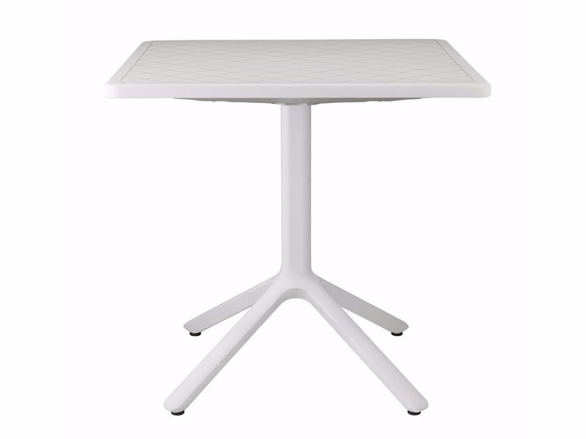 Square table with 4-star base ECO | Table by SCAB DESIGN