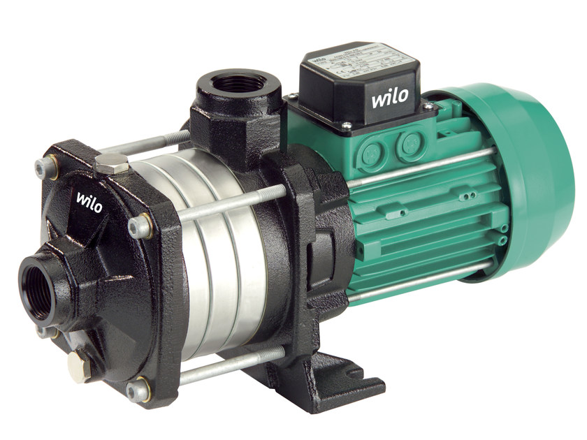 Pump and circulator for water system ECONOMY MHIL by WILO Italia
