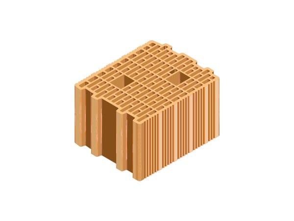 External masonry clay block ECOPOR® SSC 25X30X19 by T2D