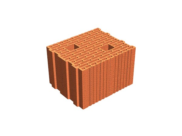 External masonry clay block ECOPOR® SSC 25X30X19 by T2D