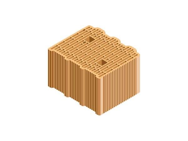 External masonry clay block ECOPOR® SSC 30X25X19 by T2D