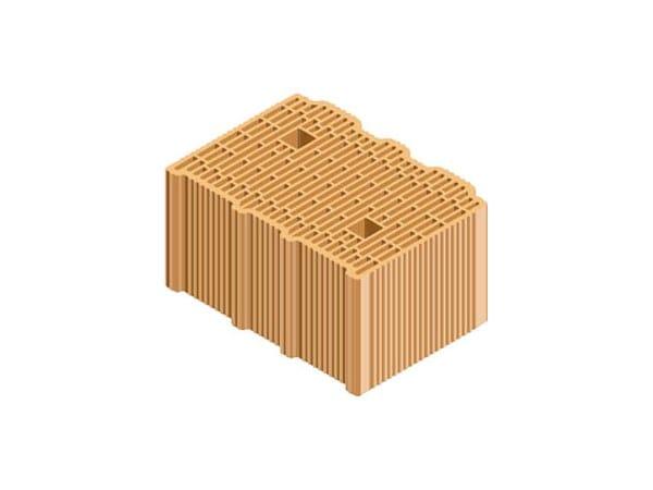 External masonry clay block ECOPOR® SSC 35X25X19 by T2D