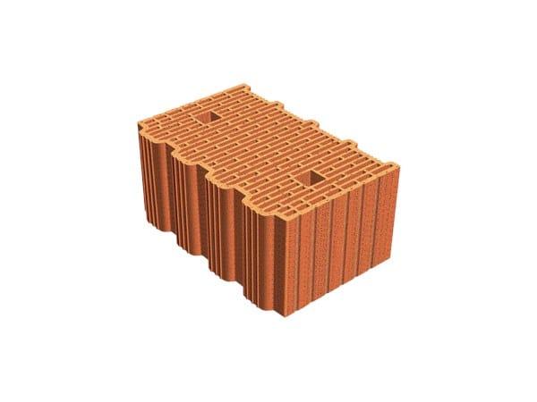 External masonry clay block ECOPOR® SSC 38X25X19 by T2D