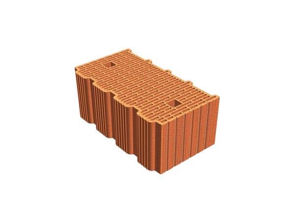 External masonry clay block ECOPOR® SSC 45X25X19 by T2D