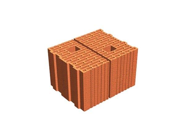 External masonry clay block ECOPOR® SSC  25X14X19 by T2D
