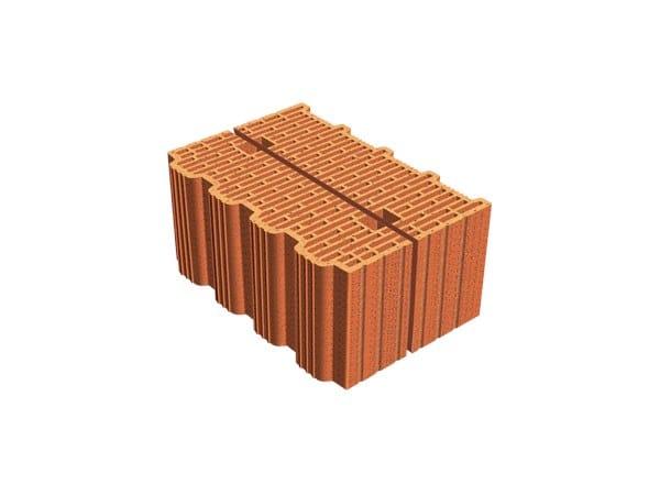 External masonry clay block ECOPOR® SSC  38X12X19 by T2D