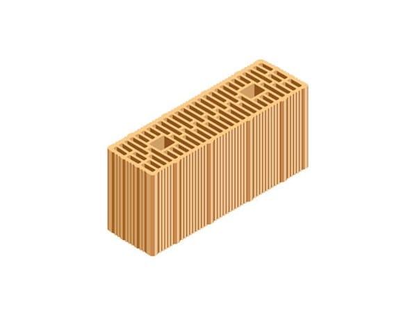 Loadbearing clay block ECOPOR® WALL 41X12,5X19 by T2D