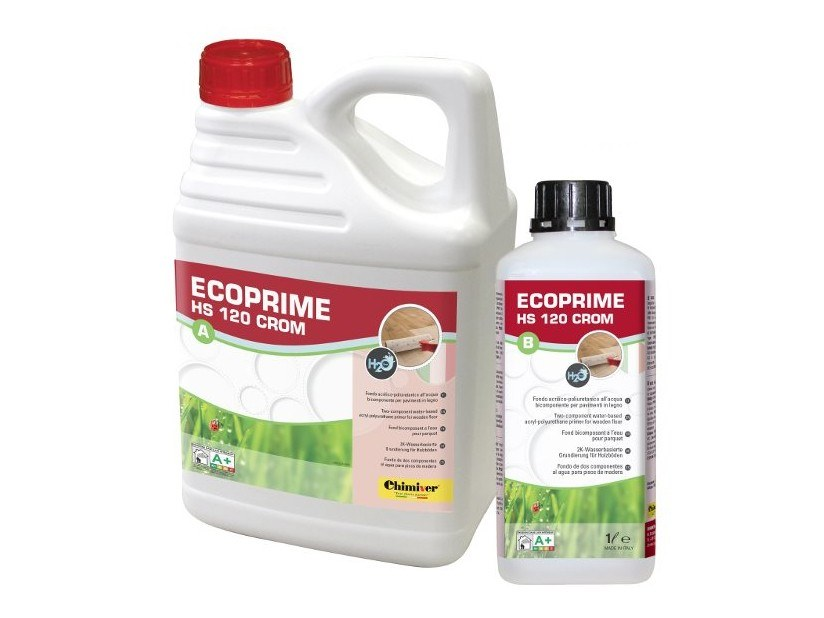 Base coat and impregnating compound for paint and varnish ECOPRIME HS 120 CROM (A+B) by Chimiver Panseri