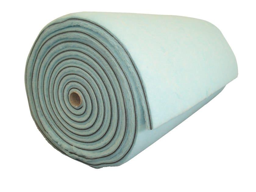 Polyester fibre thermal insulation panel / sound insulation panel ECOSOFT ROTOLI by Biemme