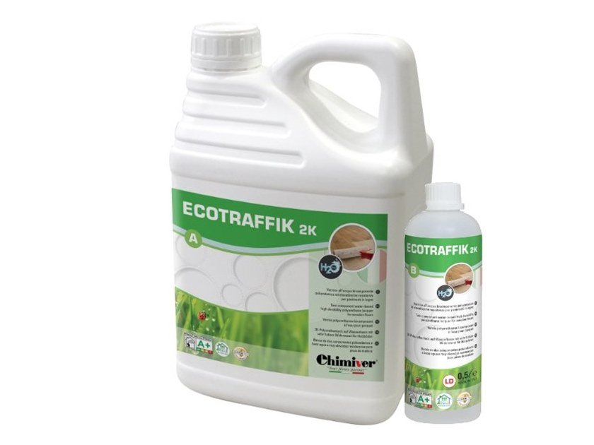 Flooring protection ECOTRAFFIK 2K (A+B) by Chimiver Panseri