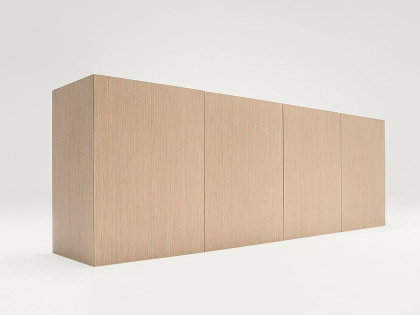 Wooden sideboard with doors EDEL | Sideboard with doors by paola lenti