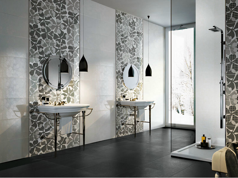 Double-fired ceramic wall tiles EDEN BIANCO by AVA Ceramica