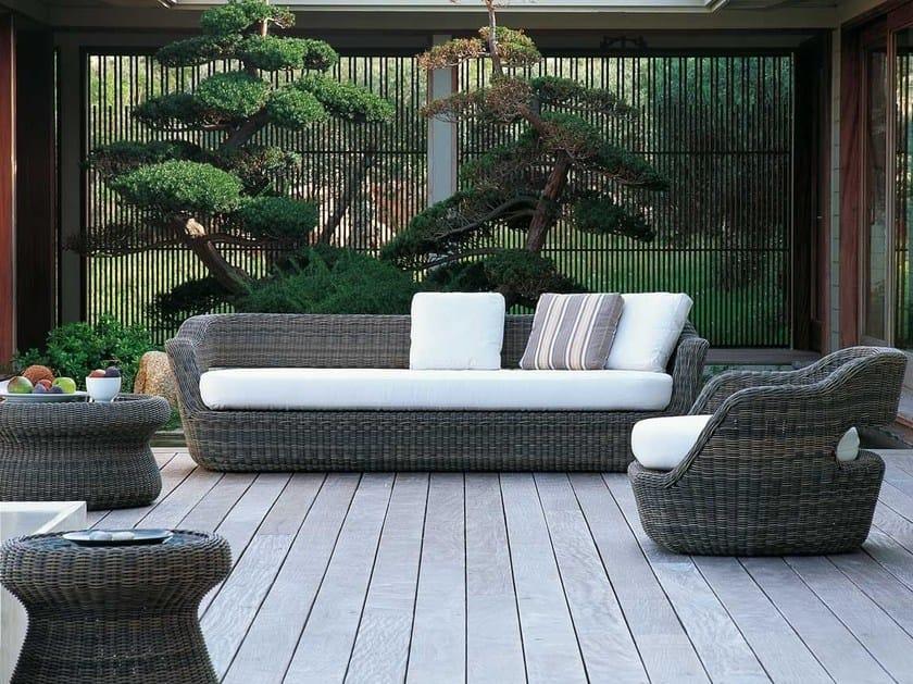 Synthetic fibre sofa EDEN | Sofa by Unopiù