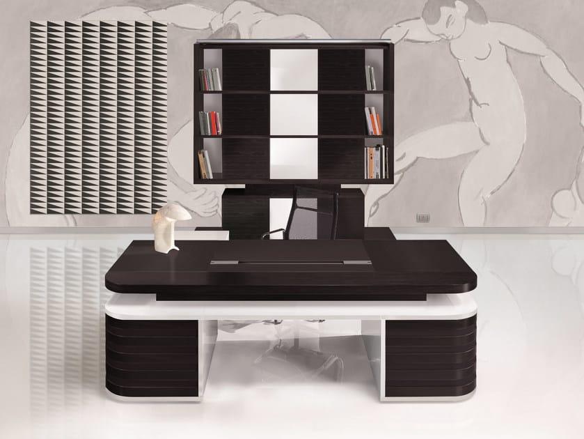 Executive desk EDOC | Office desk by ARTOM by Ultom