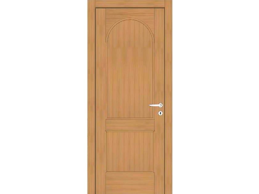 Hinged wooden door EFFIGIES 95 ROVERE MIELE by GD DORIGO
