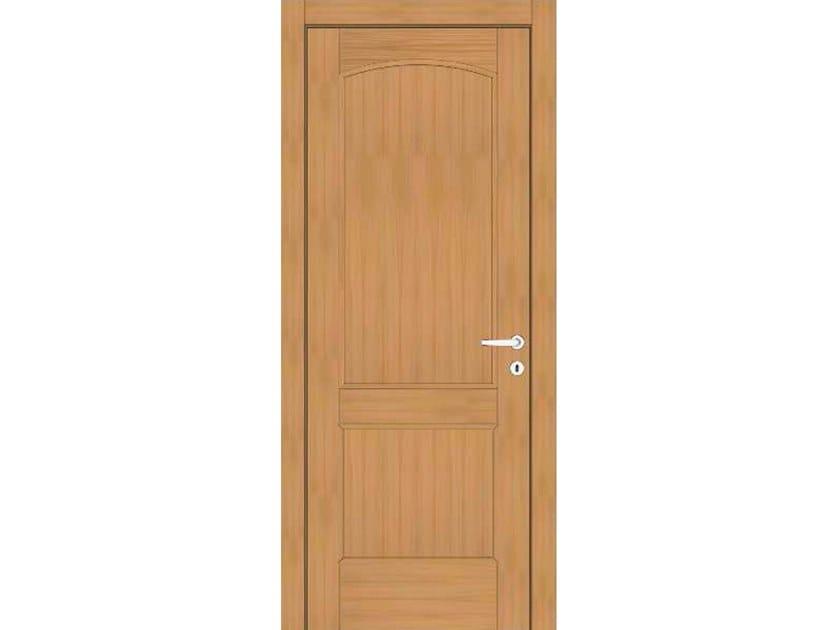 Hinged wooden door EFFIGIES 91 ROVERE MIELE by GD DORIGO