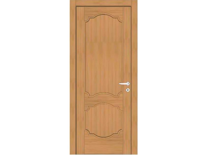 Hinged wooden door EFFIGIES 85 ROVERE MIELE by GD DORIGO