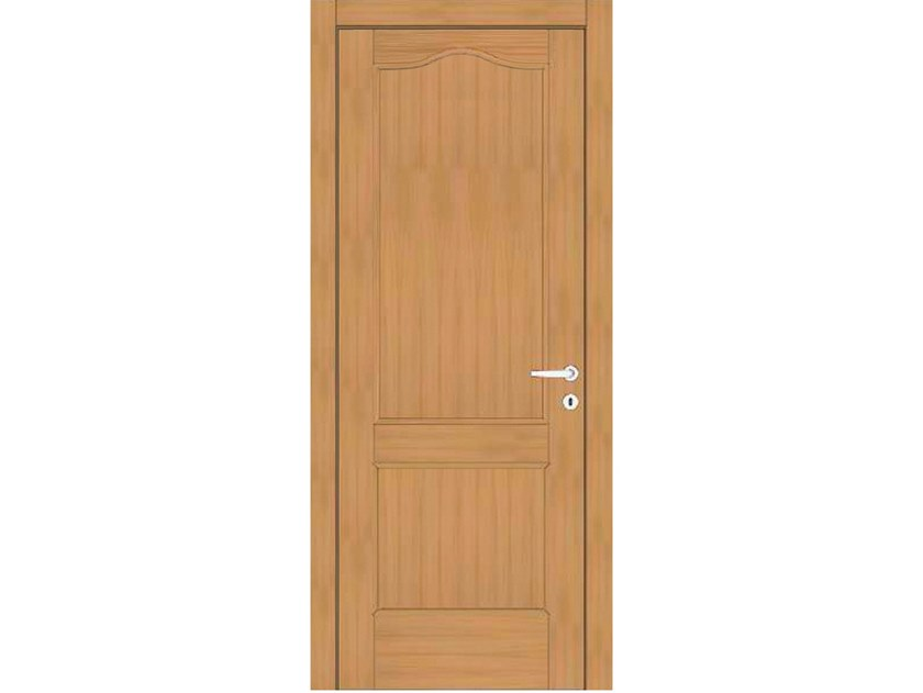 Hinged wooden door EFFIGIES 60 ROVERE MIELE by GD DORIGO