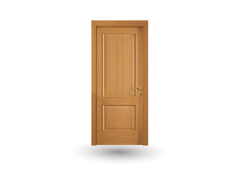 Hinged wooden door EFFIGIES 61 ROVERE MIELE by GD DORIGO