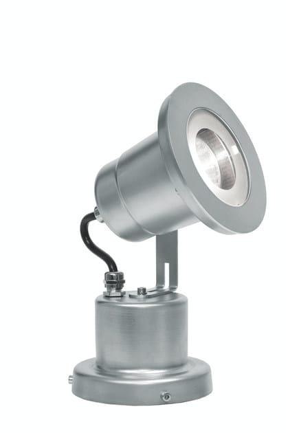 Adjustable steel Outdoor floodlight EGO F.3904 by Francesconi & C.