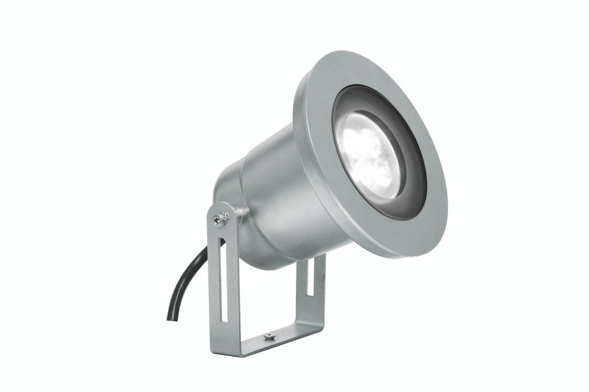 LED adjustable steel Outdoor spotlight EGO F.3901 by Francesconi & C.