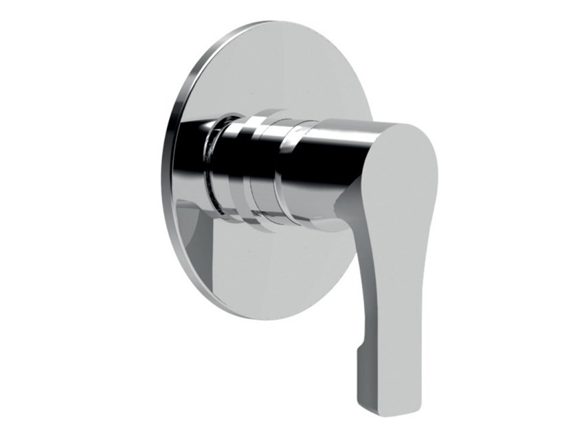 Recessed single handle shower mixer EGO - F5715 by Rubinetteria Giulini
