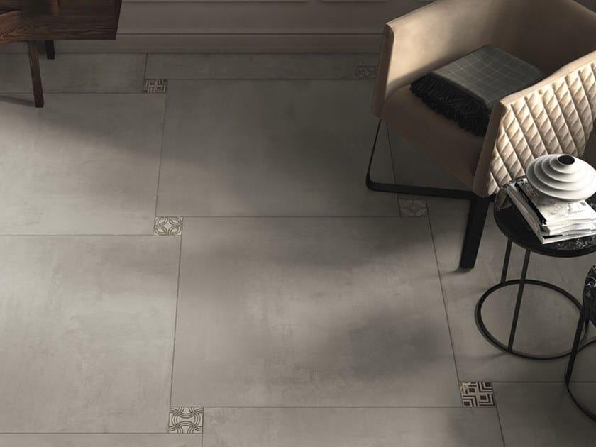 Pavimento/rivestimento in gres porcellanato a tutta massa effetto cemento EGO G by LaFaenza