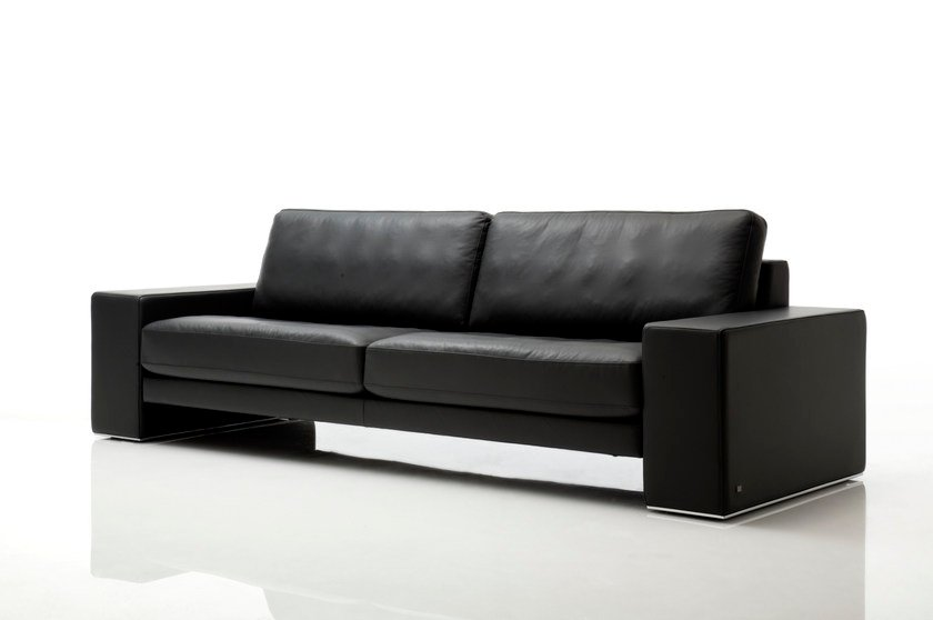 ego leather sofa ego collection by rolf benz design edgar reuter. Black Bedroom Furniture Sets. Home Design Ideas