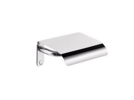 Toilet roll holder with cover EGO | Toilet roll holder with cover by INDA®
