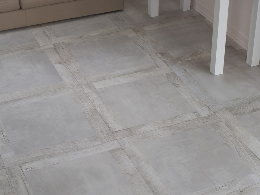 Pavimento/rivestimento in gres porcellanato a tutta massa effetto cemento EGO W by LaFaenza