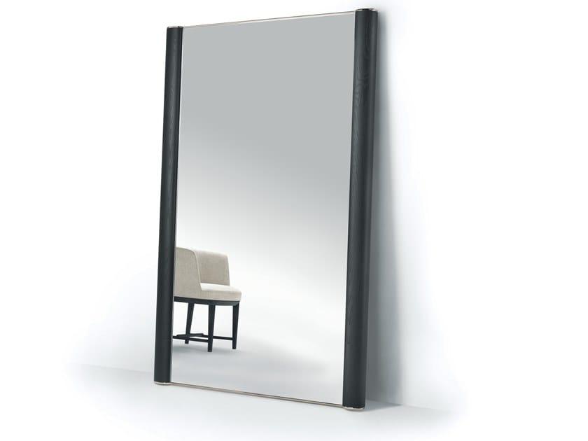 Freestanding rectangular framed mirror EGON by Mood by Flexform