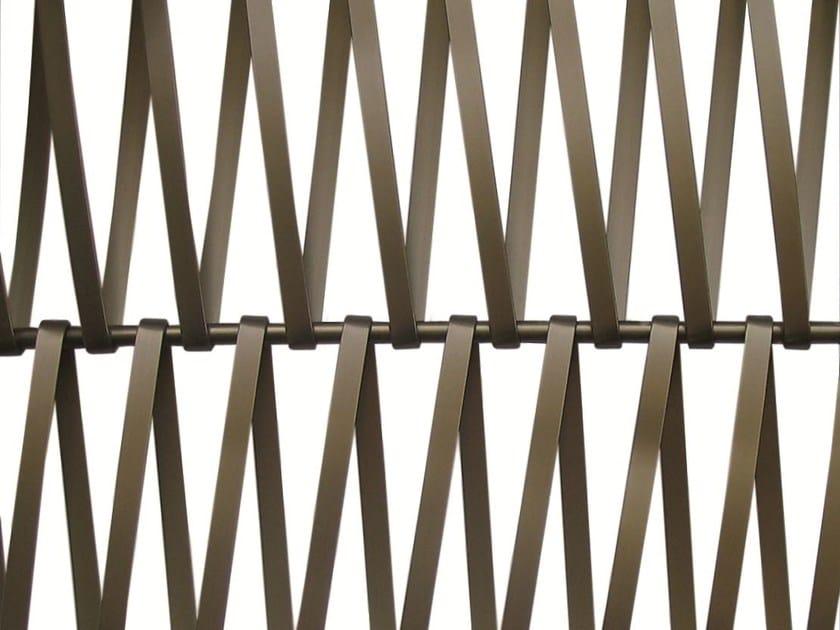 Aluminium Metal mesh EIFFEL 20100 BRONZE by Codina