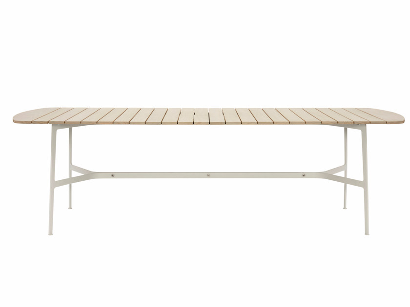 Rectangular Accoya® wood garden table EILEEN | Accoya® wood table by SP01