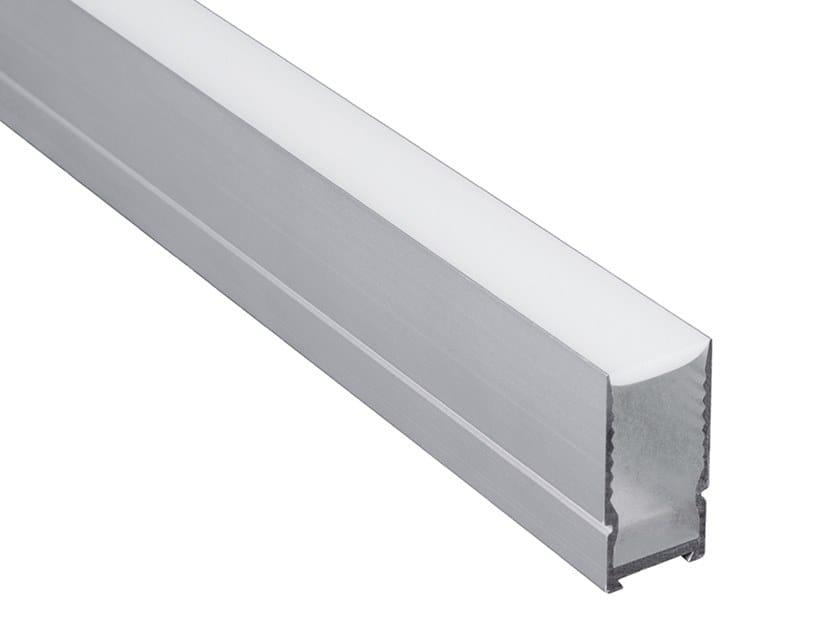 Metal Outdoor linear profile EK1 | Outdoor linear profile by Aldabra
