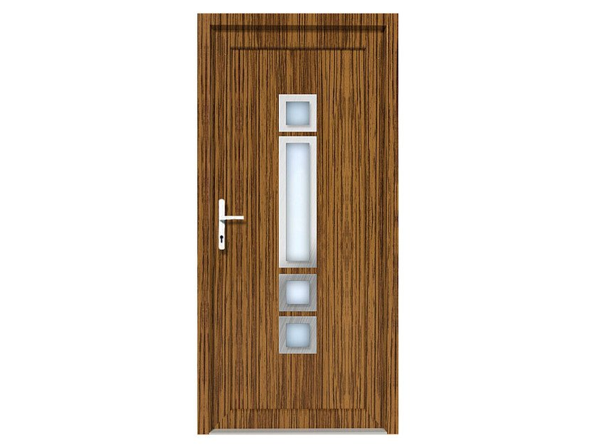 HPL door panel for indoor use EKOLINE 01 by EKO-OKNA