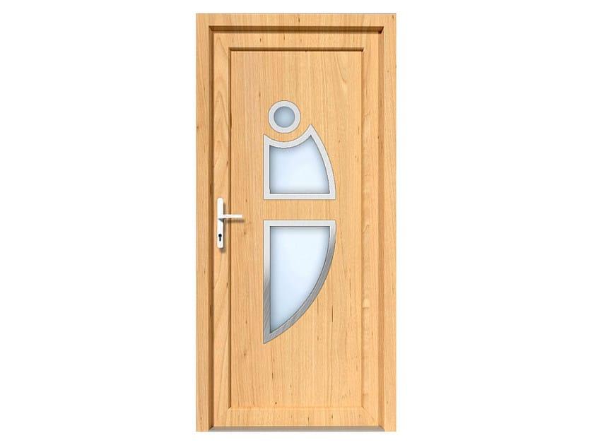 HPL door panel for indoor use EKOLINE 08 by EKO-OKNA