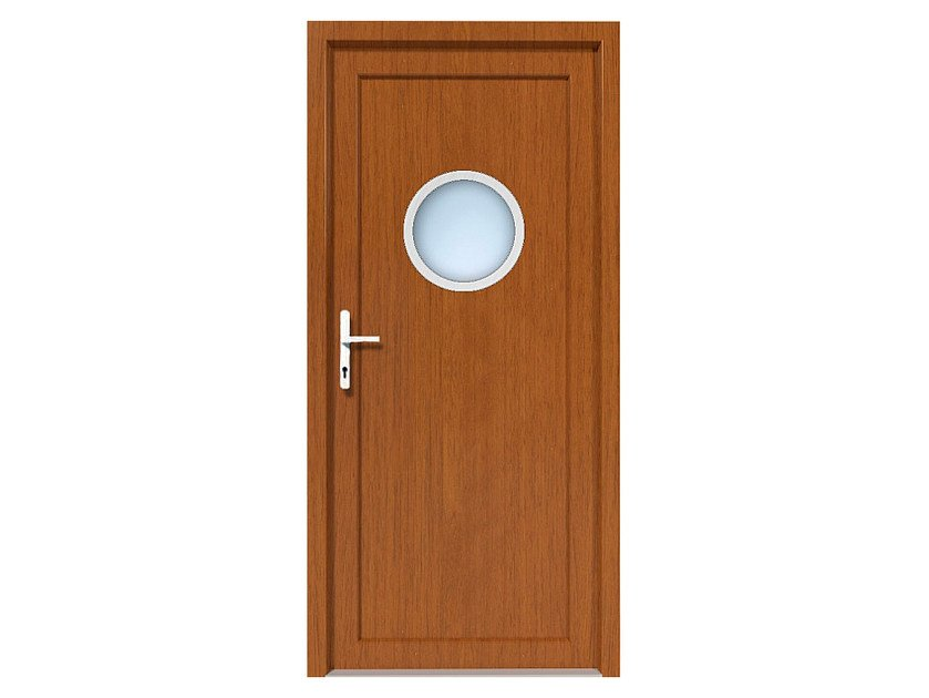 HPL door panel for indoor use EKOLINE 10 by EKO-OKNA