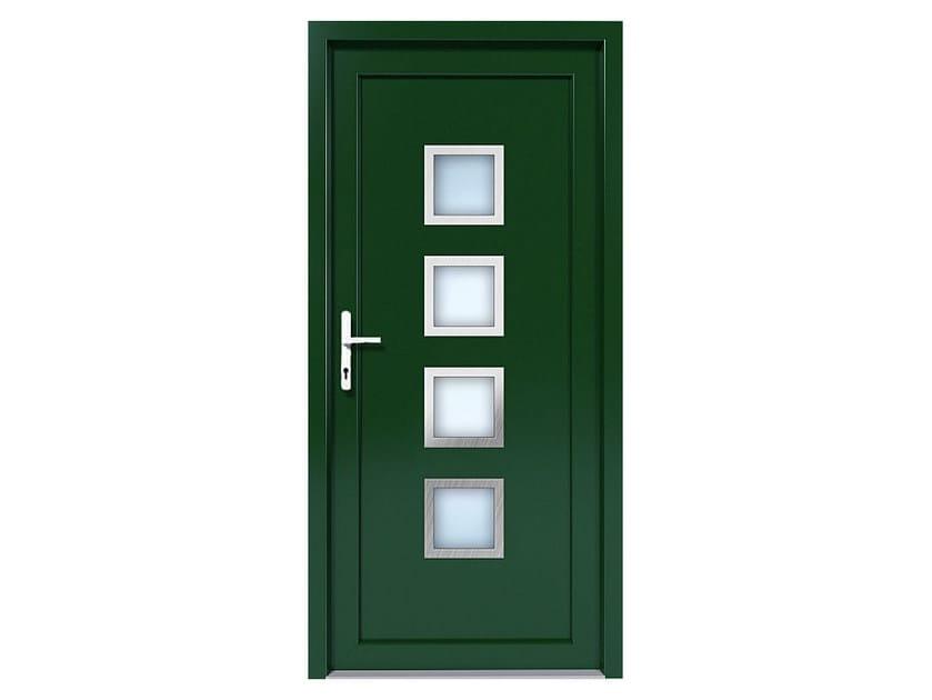 HPL door panel for indoor use EKOLINE 25 by EKO-OKNA