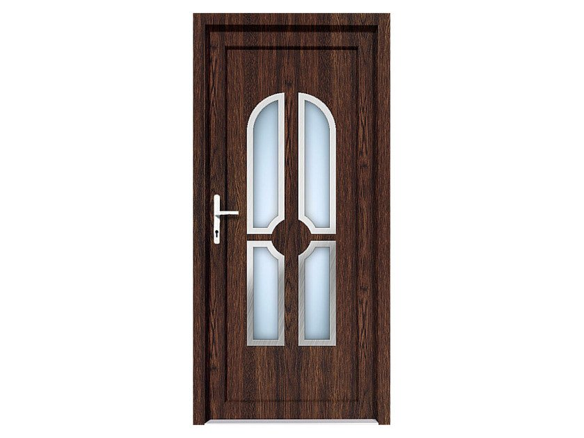 HPL door panel for indoor use EKOLINE 27 by EKO-OKNA