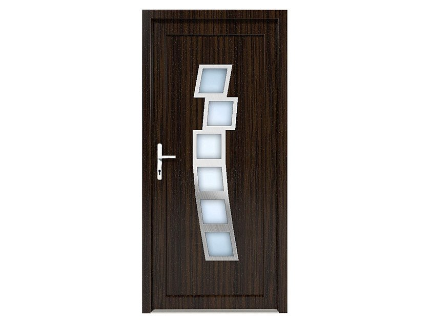HPL door panel for indoor use EKOLINE 36 by EKO-OKNA