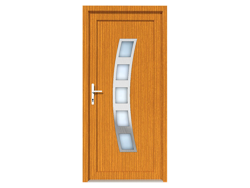 HPL door panel for indoor use EKOLINE 42 by EKO-OKNA