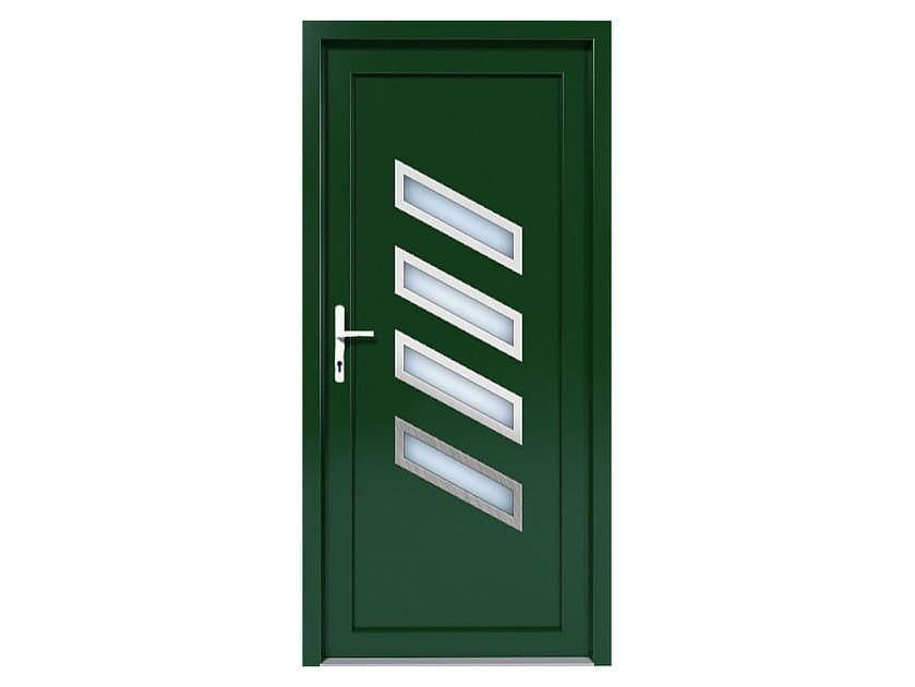 HPL door panel for indoor use EKOLINE 43 by EKO-OKNA