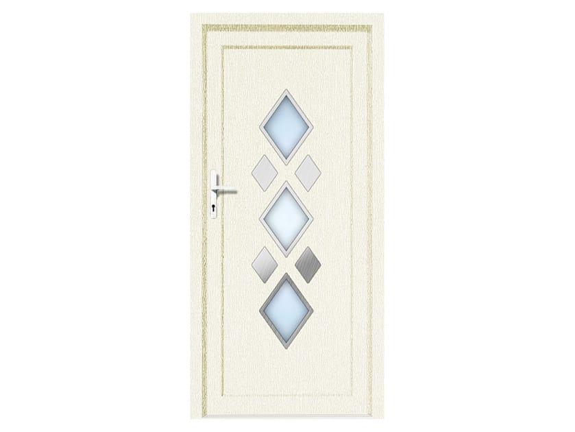HPL door panel for indoor use EKOLINE 44 by EKO-OKNA