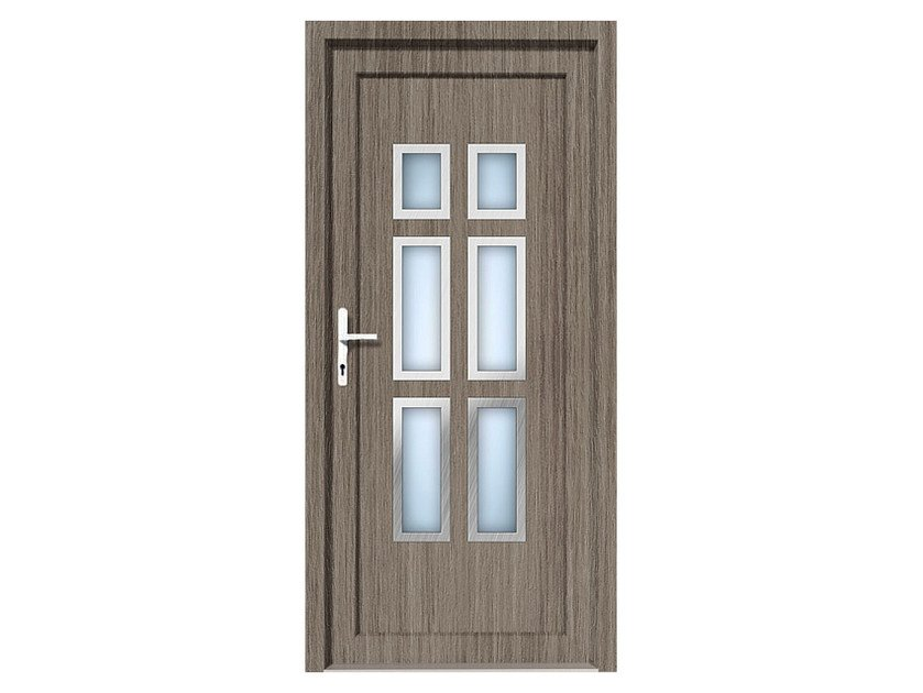 HPL door panel for indoor use EKOLINE 46 by EKO-OKNA