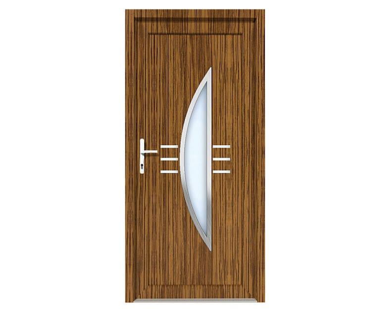HPL door panel for indoor use EKOLINE 48 by EKO-OKNA