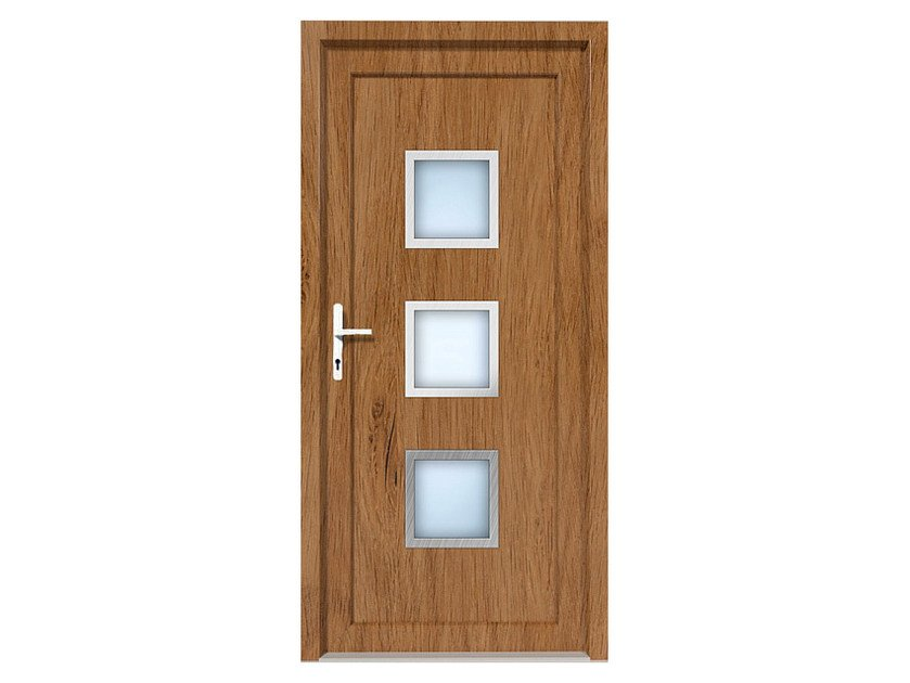 HPL door panel for indoor use EKOLINE 51 by EKO-OKNA