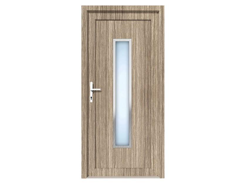 HPL door panel for indoor use EKOLINE 54 by EKO-OKNA