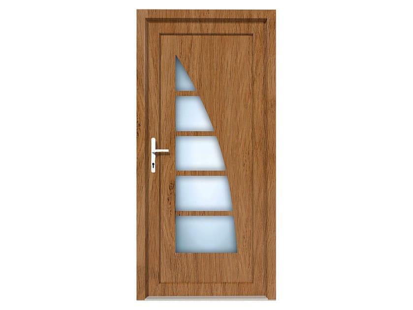 HPL door panel for indoor use EKOLINE 55 by EKO-OKNA